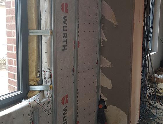 Carlier Baudoin - isolation de toiture, ossature bois, installation de velux, couverture joint debout